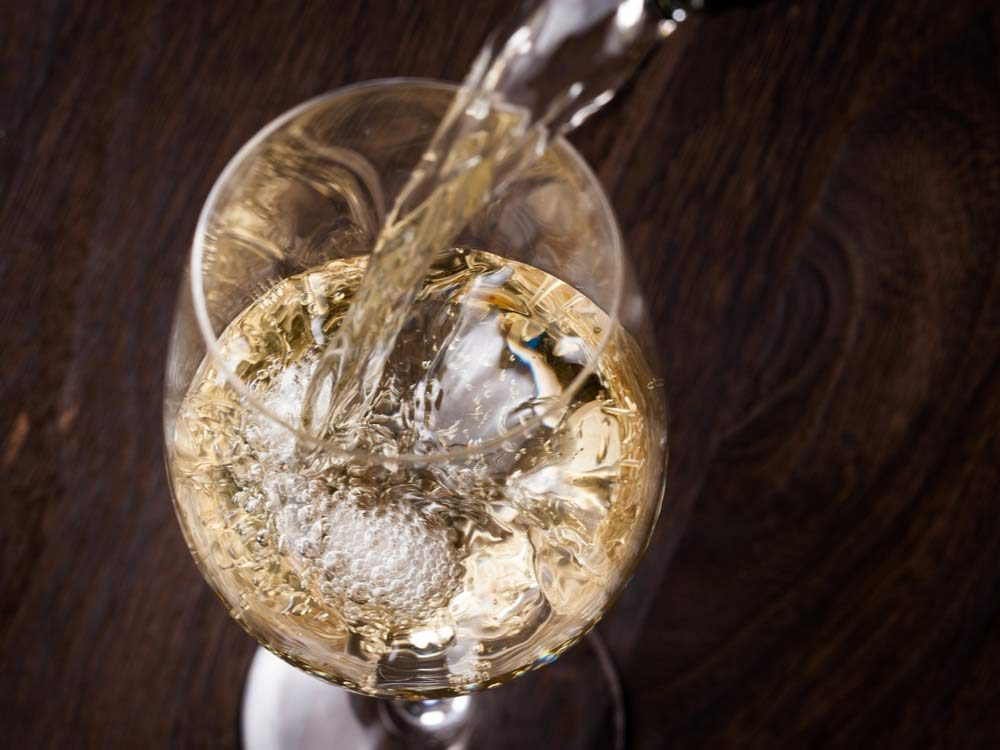 How to chill white wine fast
