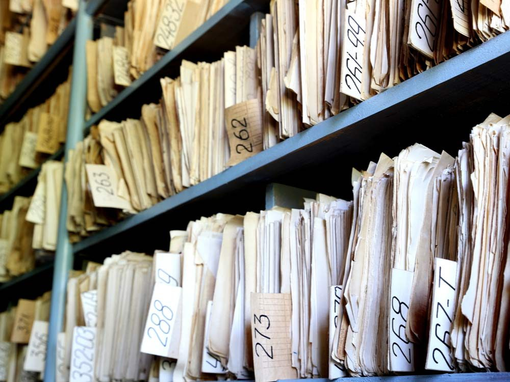 Old documents and files