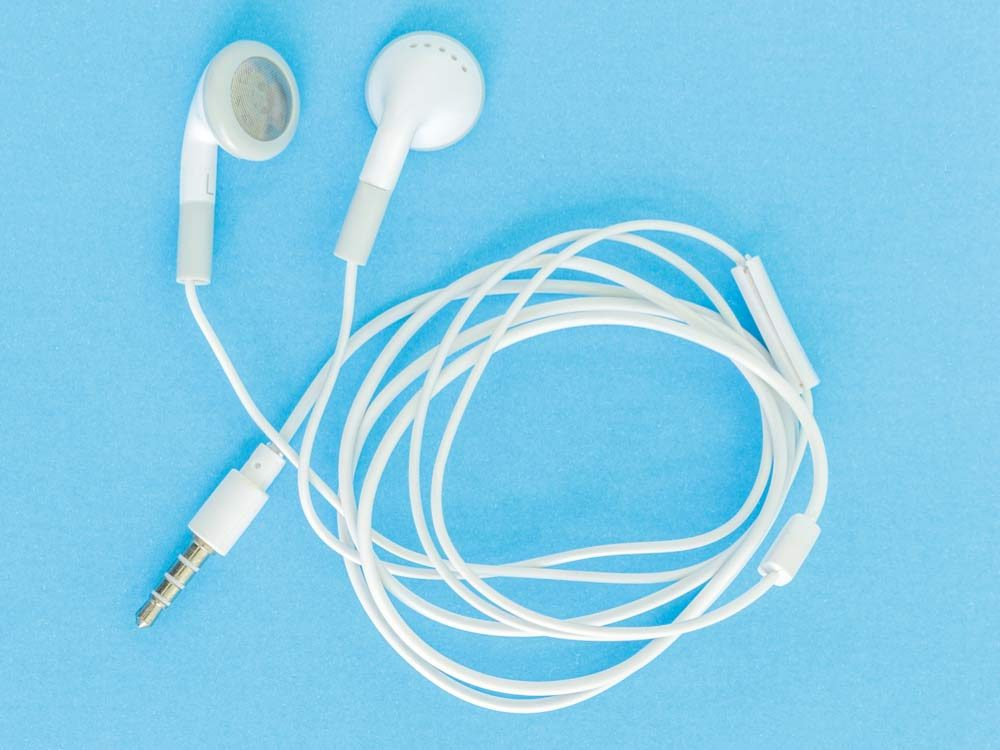 Never share earbuds