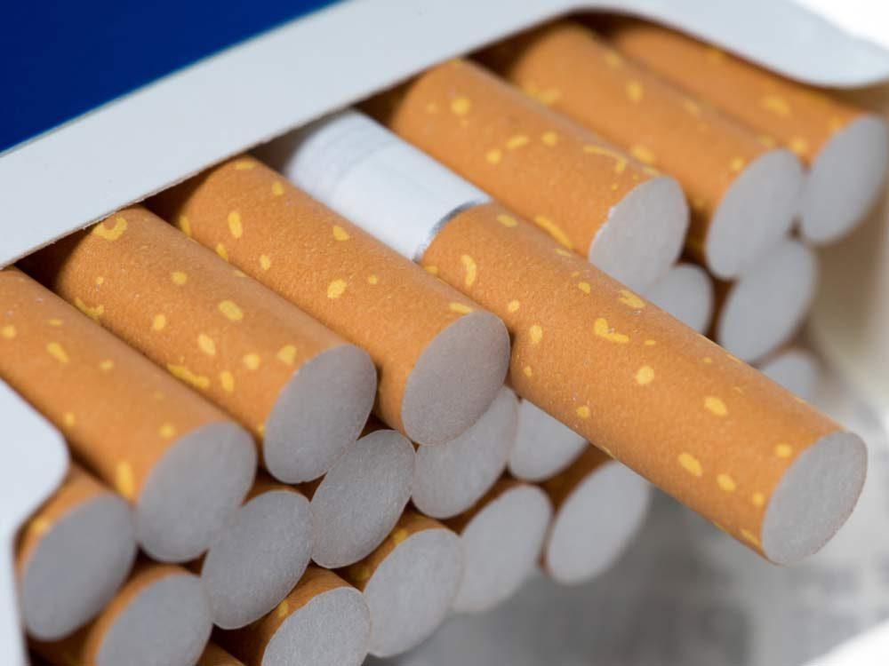 Cigarettes in carton