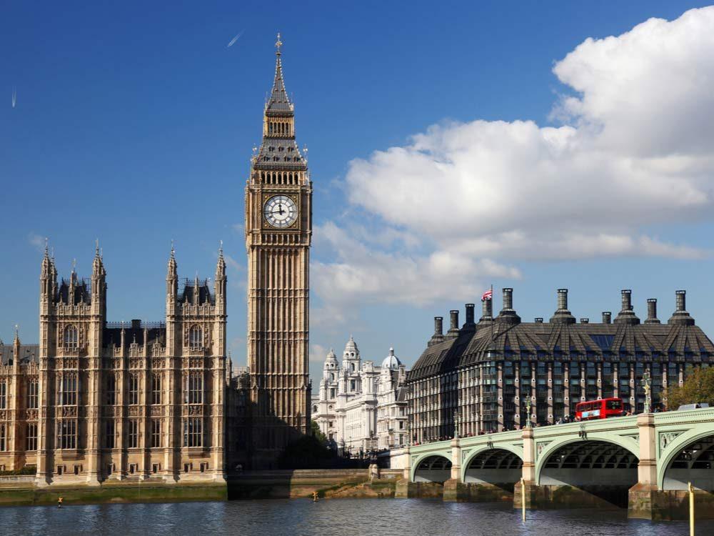 London Big Ben landmark