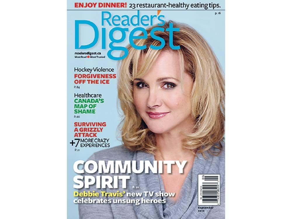 2010 issue of Reader's Digest Canada
