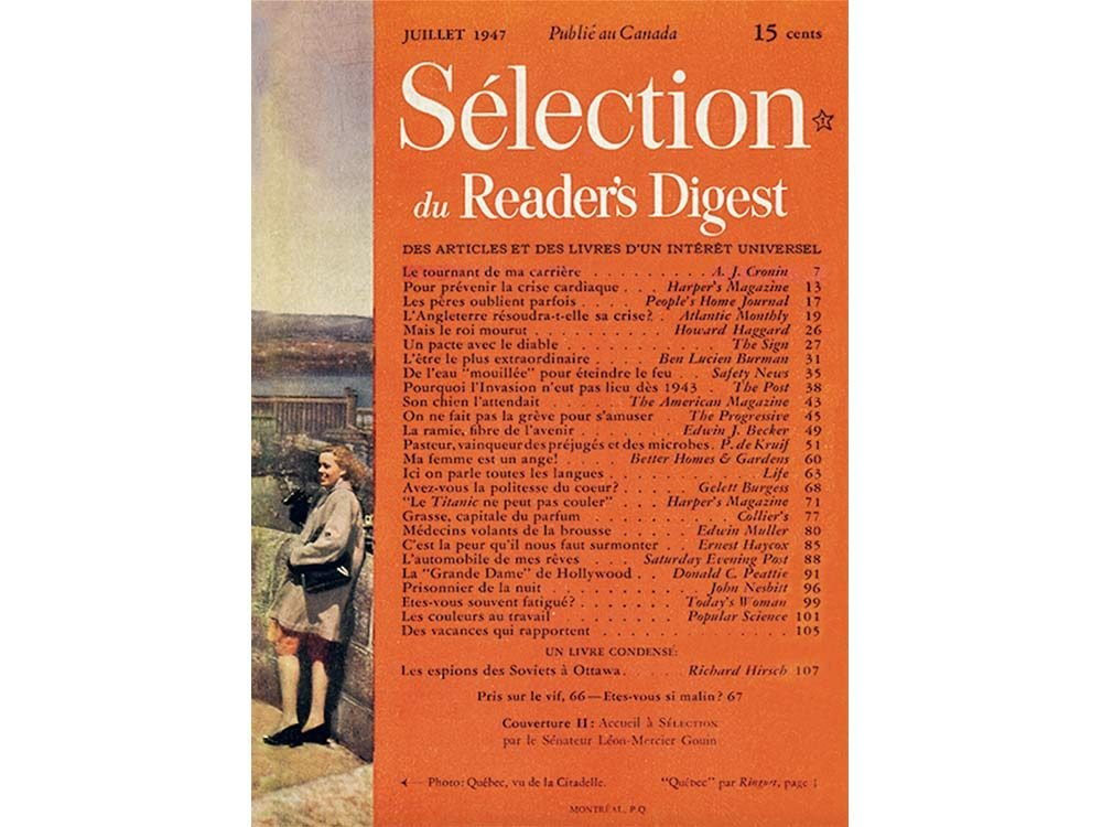 First issue of Selection