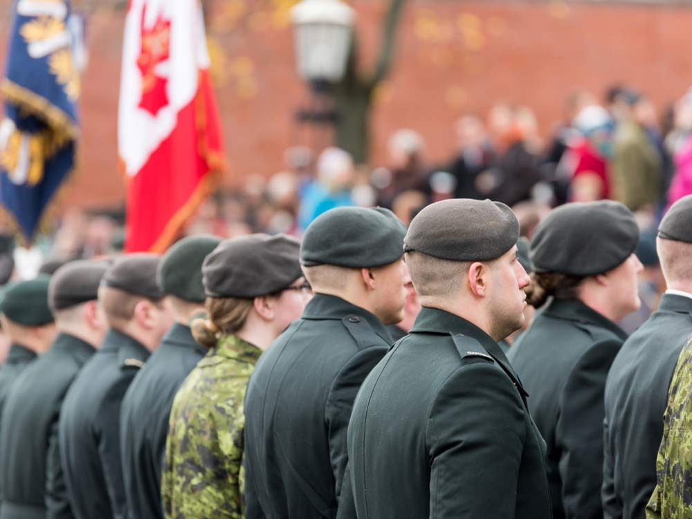 Remembrance Day in Newfoundland