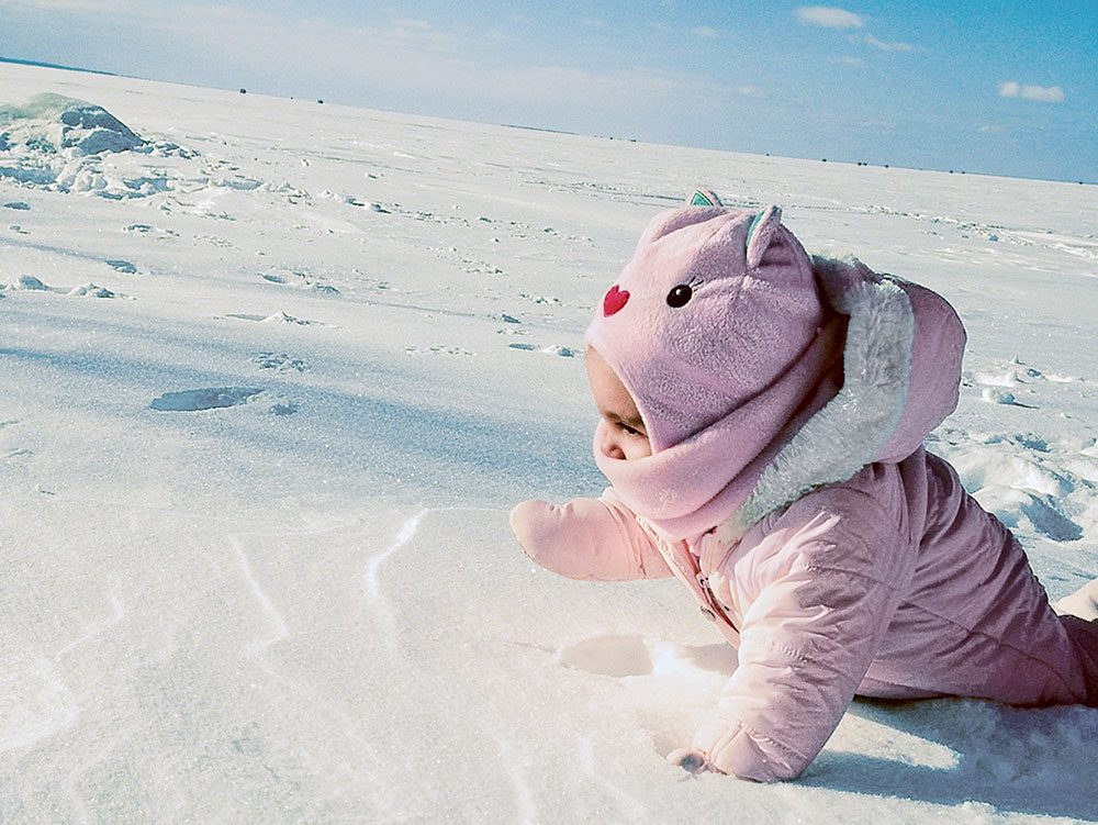 Canadian winter: Lake Nipissing, Ontario