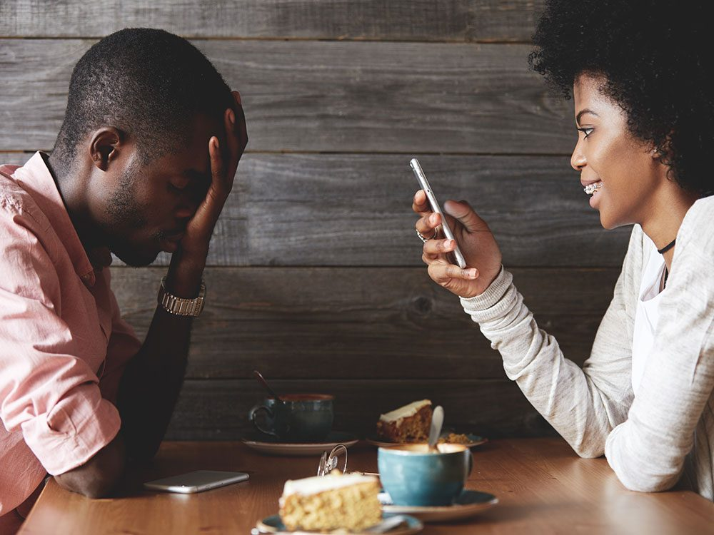 Are you often competing for your partner's attention?