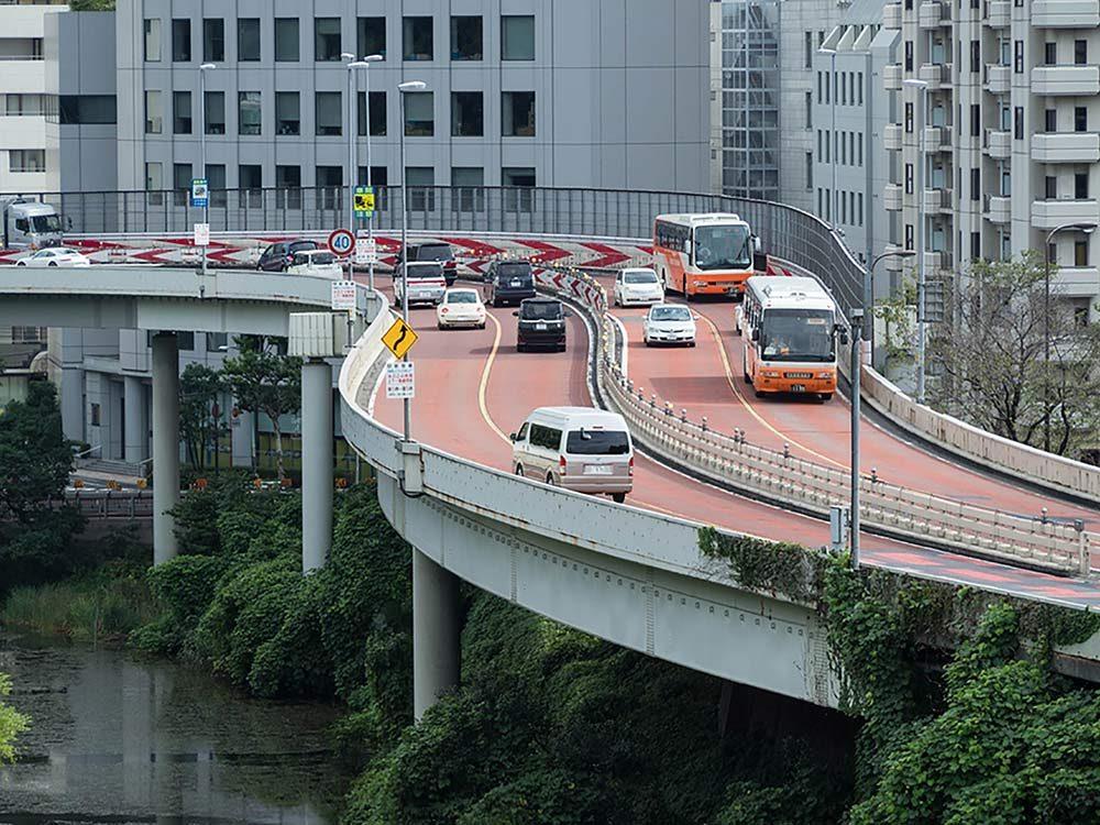Highway in Japan