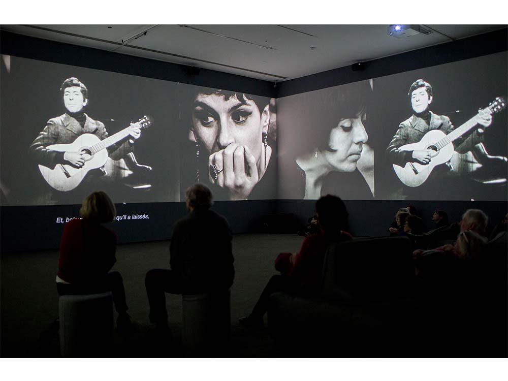 360-degree video of Leonard Cohen