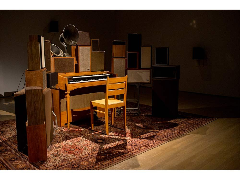 Poetry Machine at Leonard Cohen exhibit