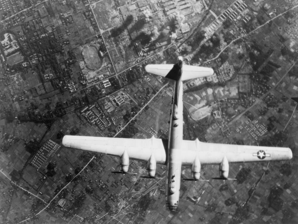 American fighter plane in World War II