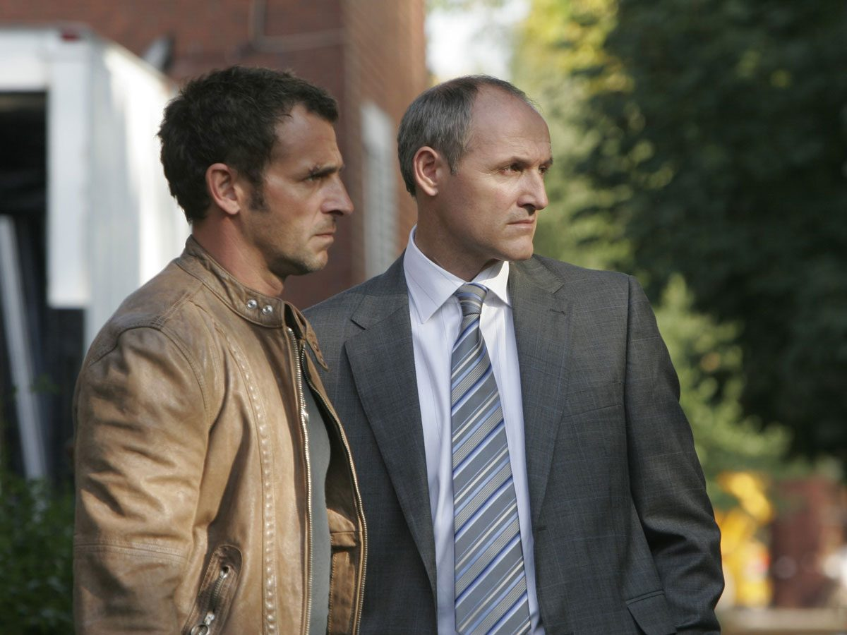 "Patrick Huard and Colm Feore in ""Bon Cop Bad Cop"""