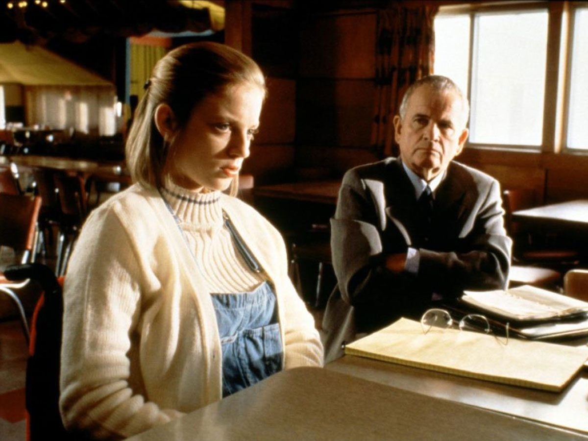 "Sarah Polley and Ian Holm in ""The Sweet Hereafter"""