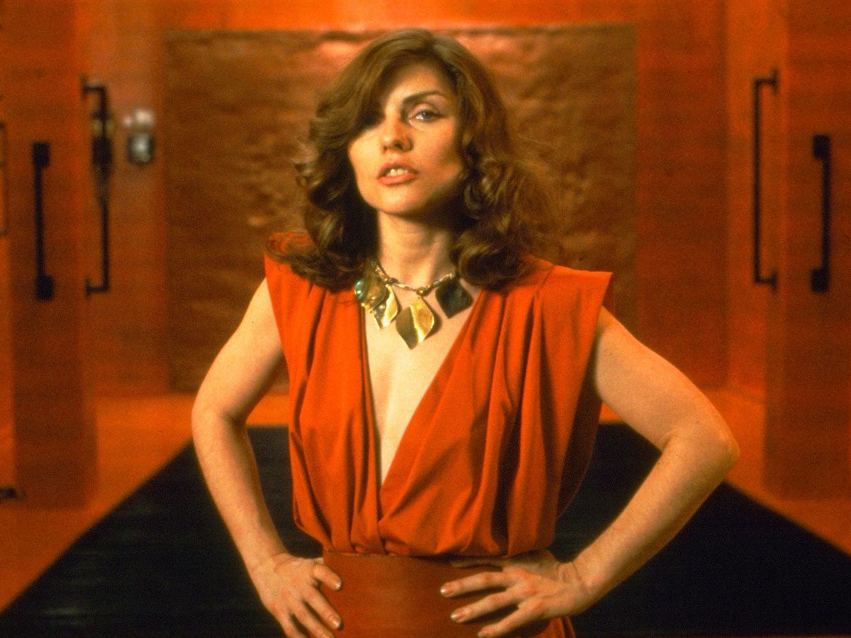 "Deborah Harry in ""VIdeodrome"""