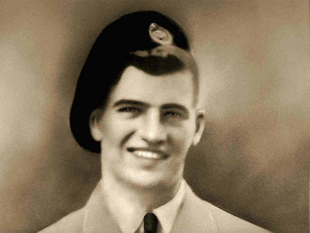 World War II veteran Norman Salive