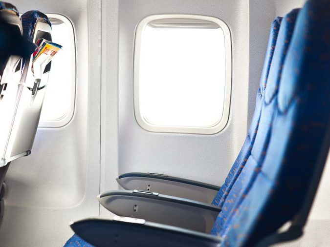 Hidden features on airplanes