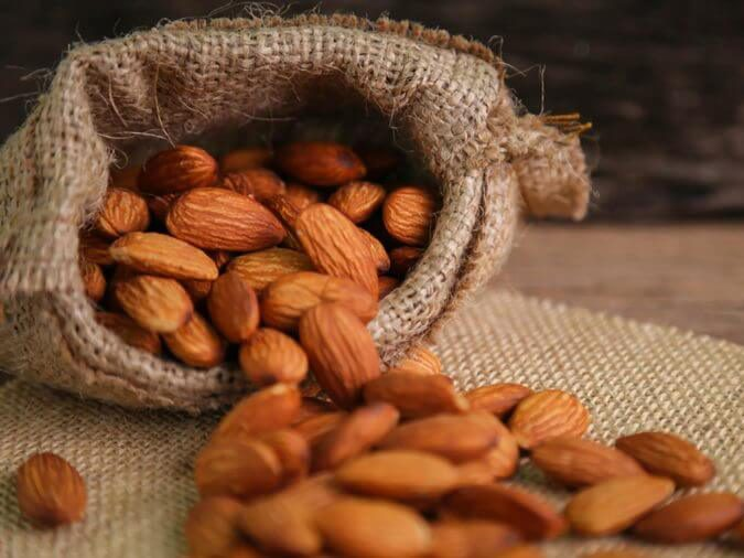 Don't eat raw almonds if they taste bitter