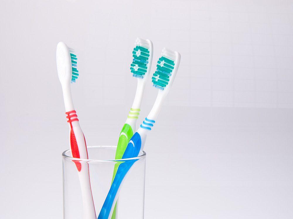 Hepatitis from toothbrush