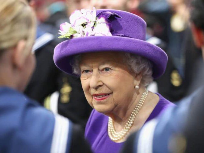 You should never call Queen Elizabeth by name