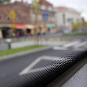 Black dots on car windshields