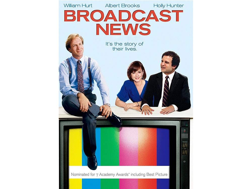 Broadcast News starring Holly Hunter and William Hurt