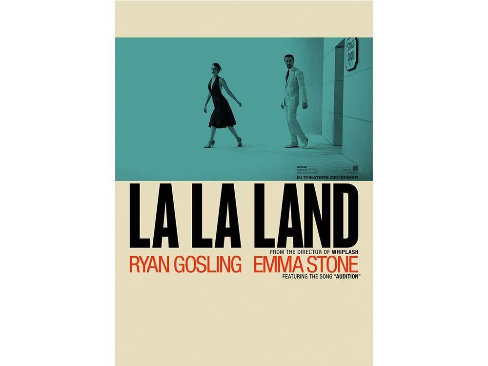 La La Land starring Emma Stone and Ryan Gosling