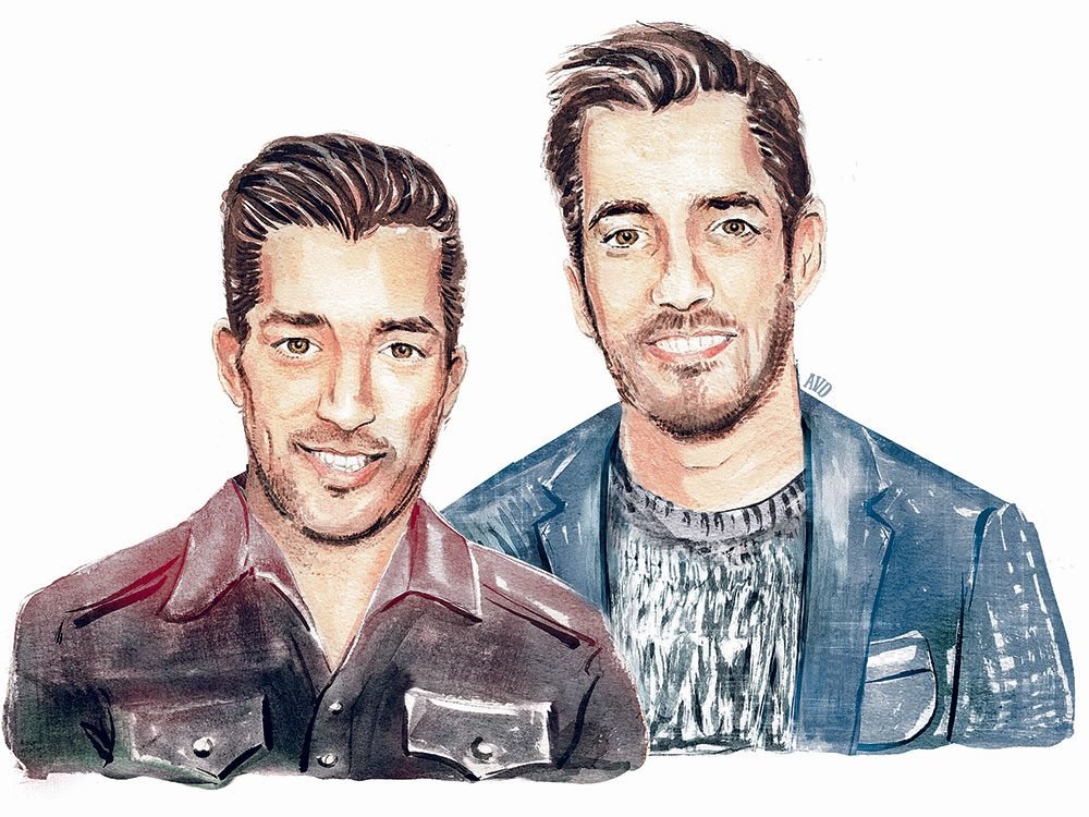 Drew and Jonathan Scott, TV's Property Brothers
