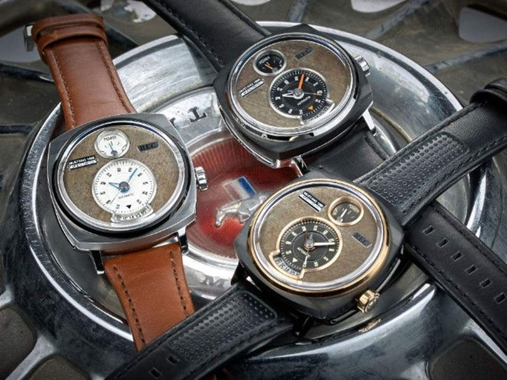 Watches made from Ford Mustangs