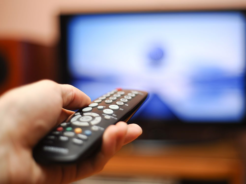 Germs on TV remotes