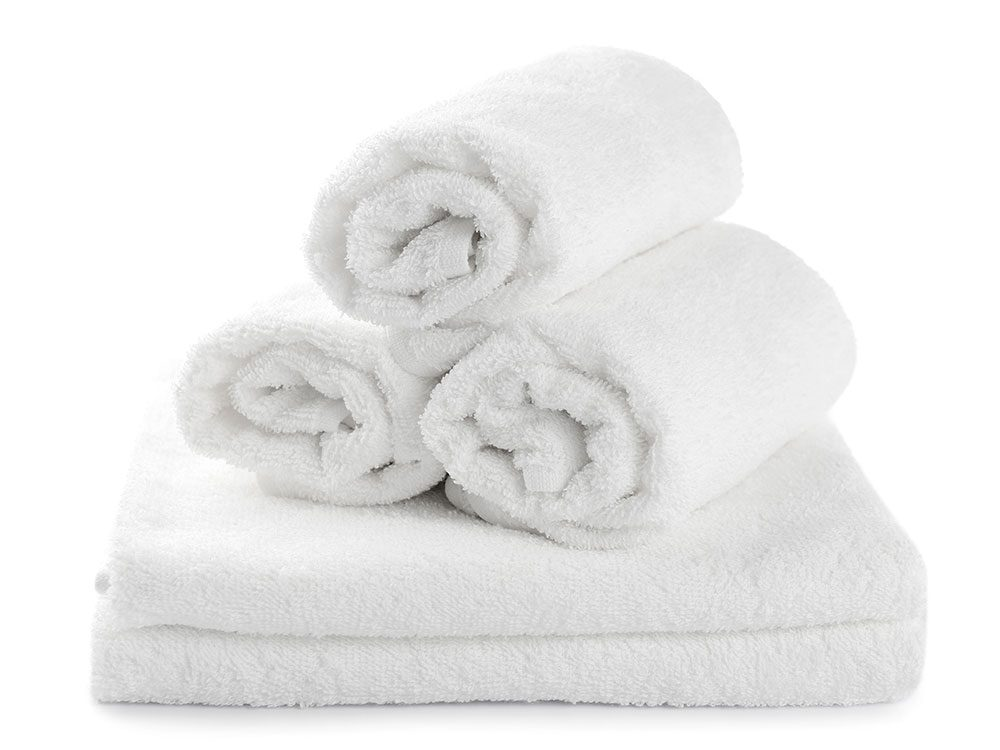 Hot towels for teeth grinding