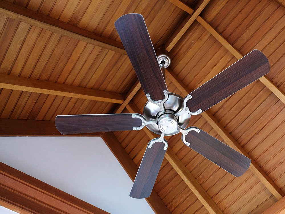 House cleaning hacks: Ceiling fans