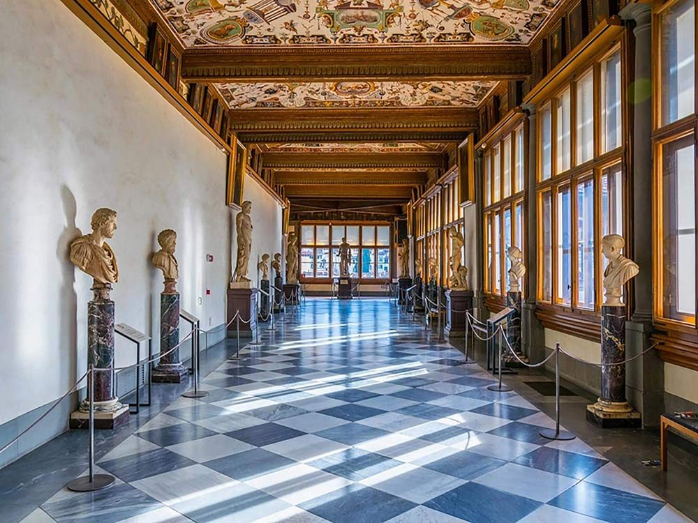 Hall in museum