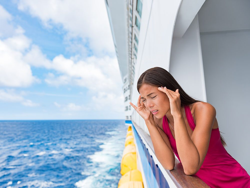 Motion sickness cures work for sea sickness too