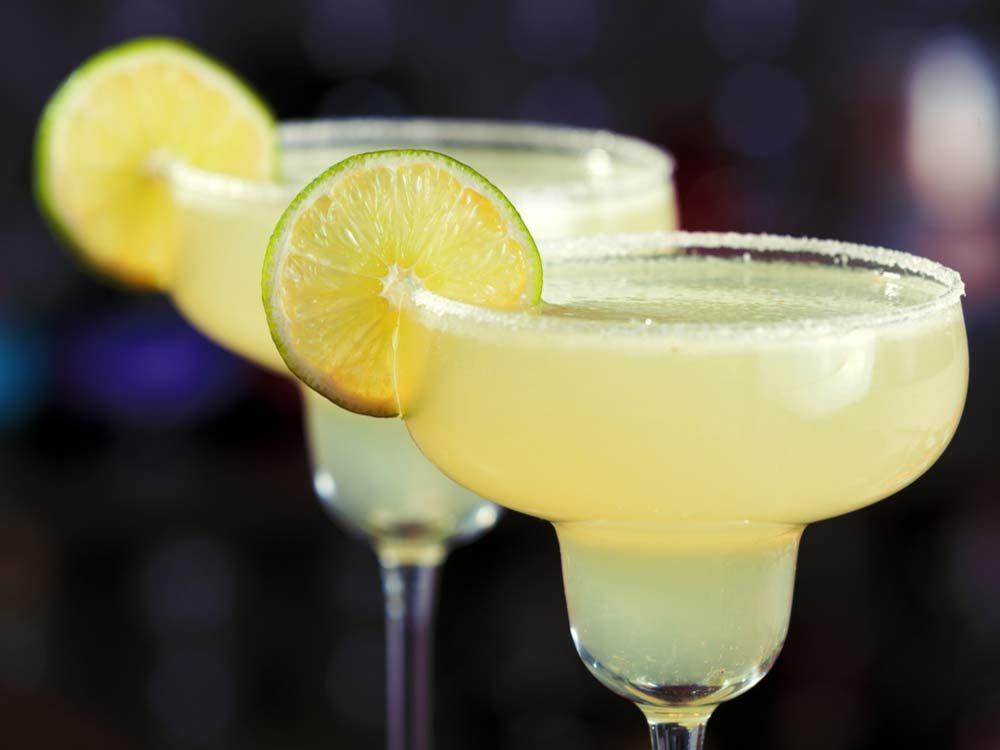Perfect margarita cocktails