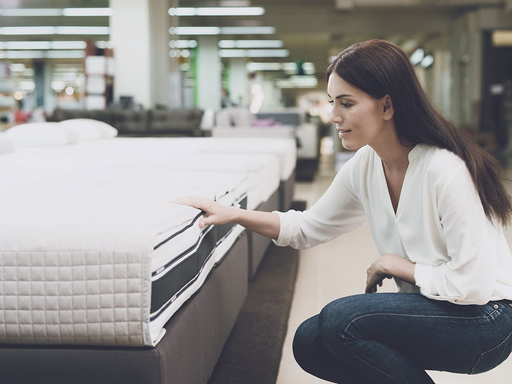Shopping around for a new mattress