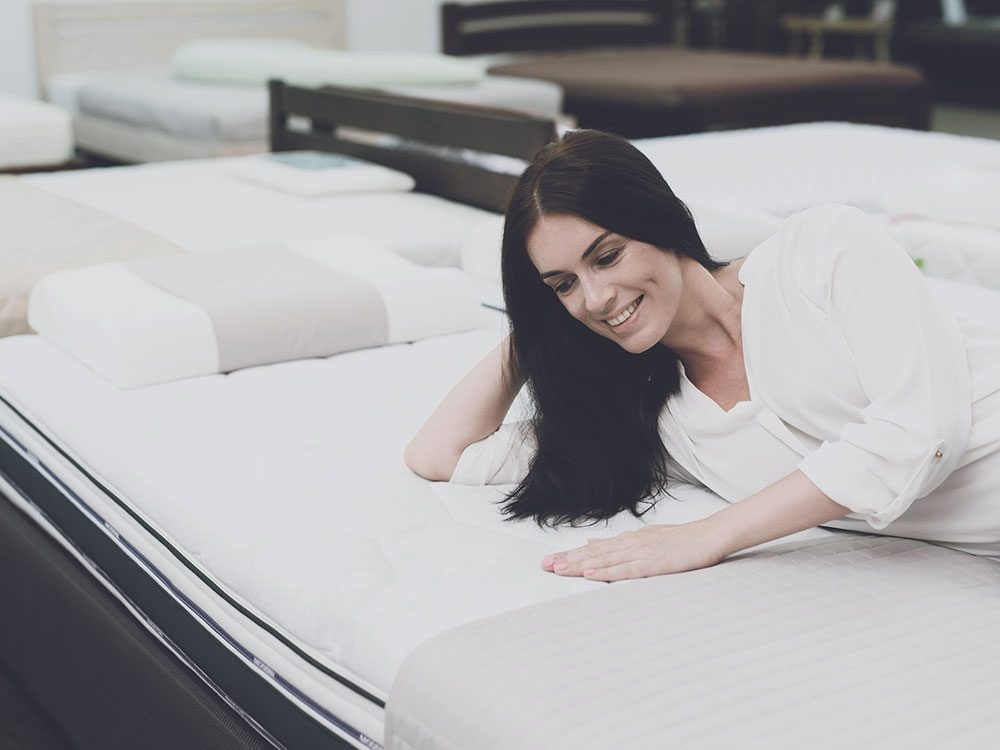 Test out a new mattress