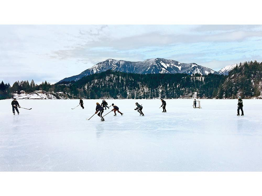 Kawkawa Lake in Hope, British Columbia