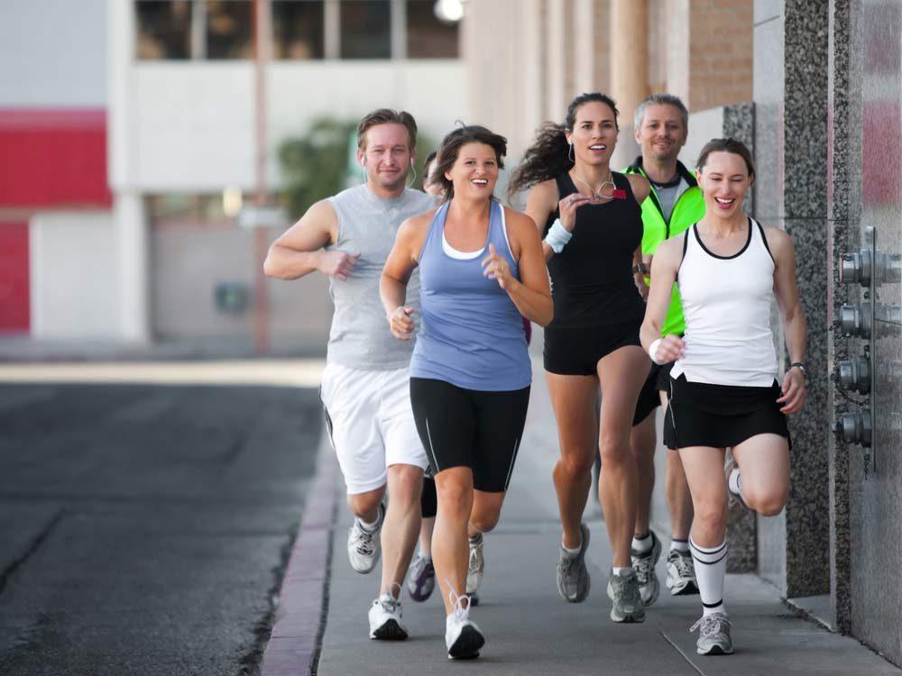 Social running group