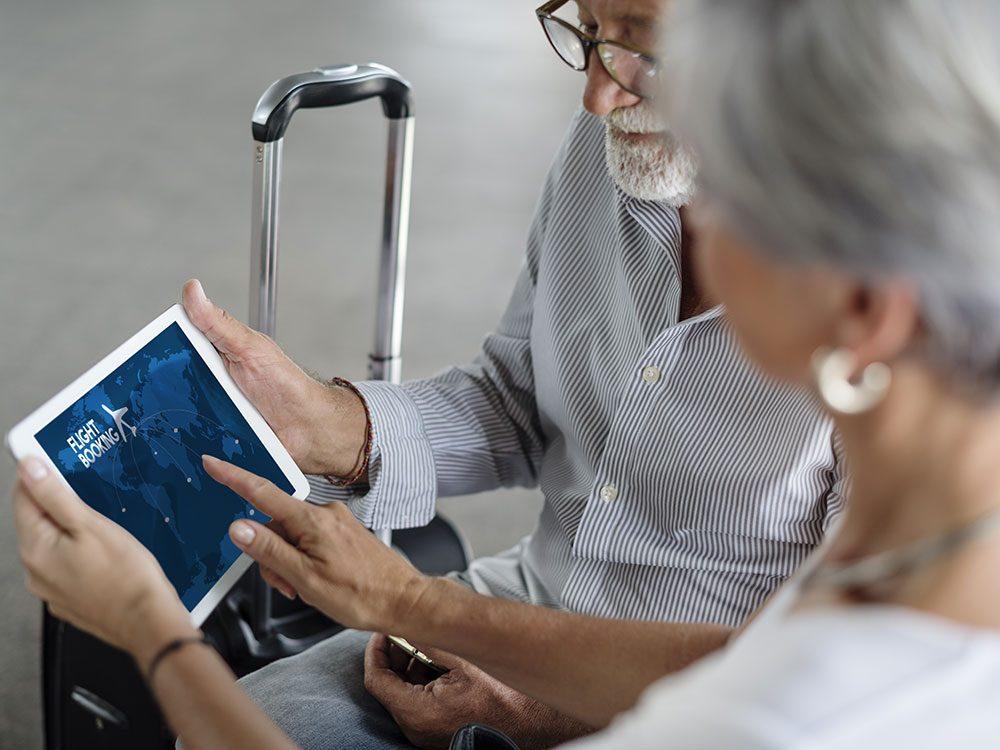 Airport tips: Investigate senior fare flights