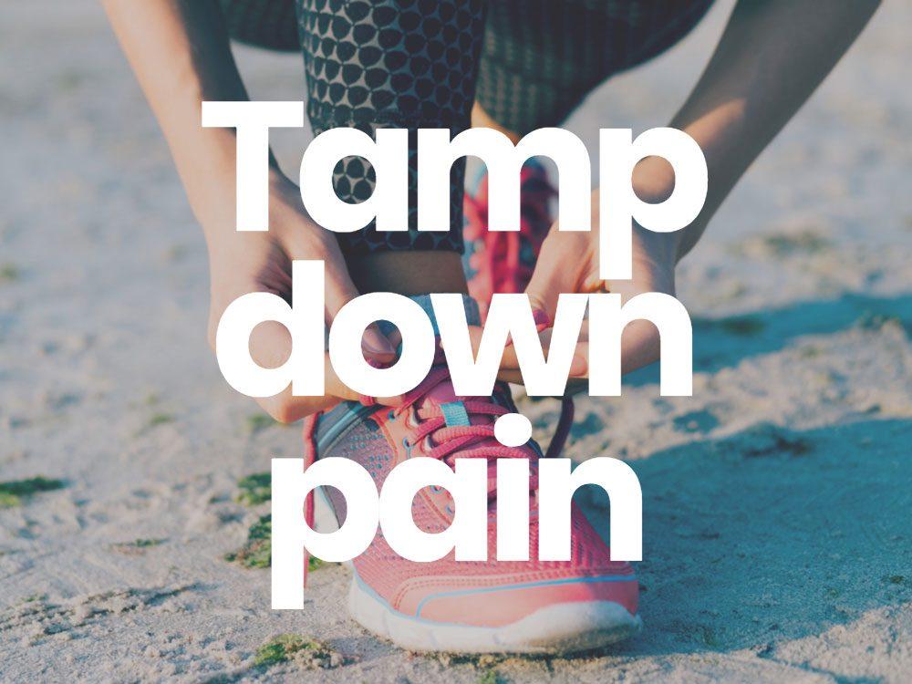 Tamp down pain