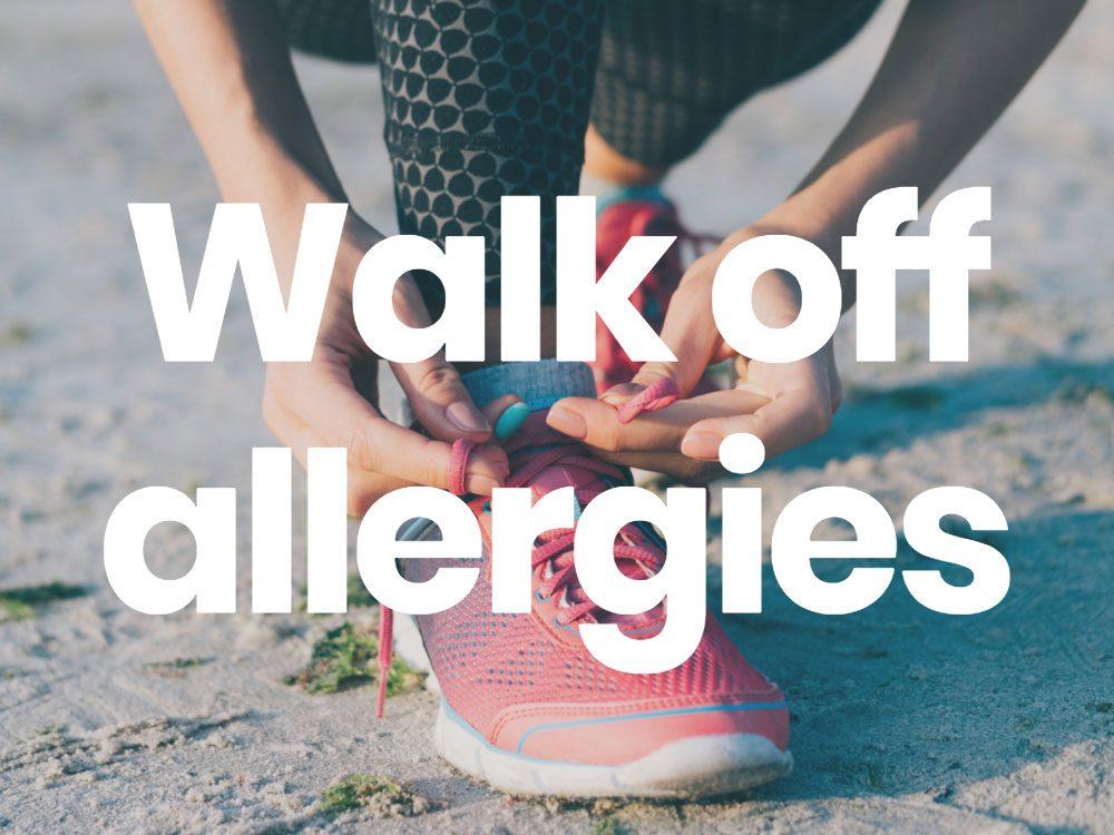 Walk off energies