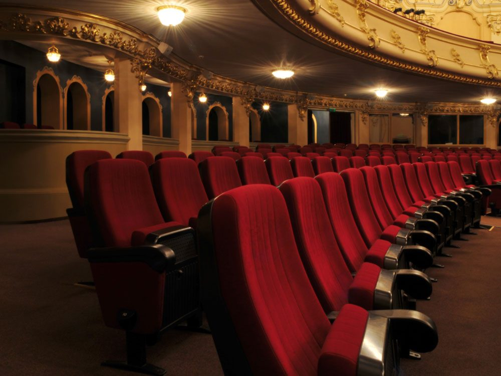 Seating in opera house