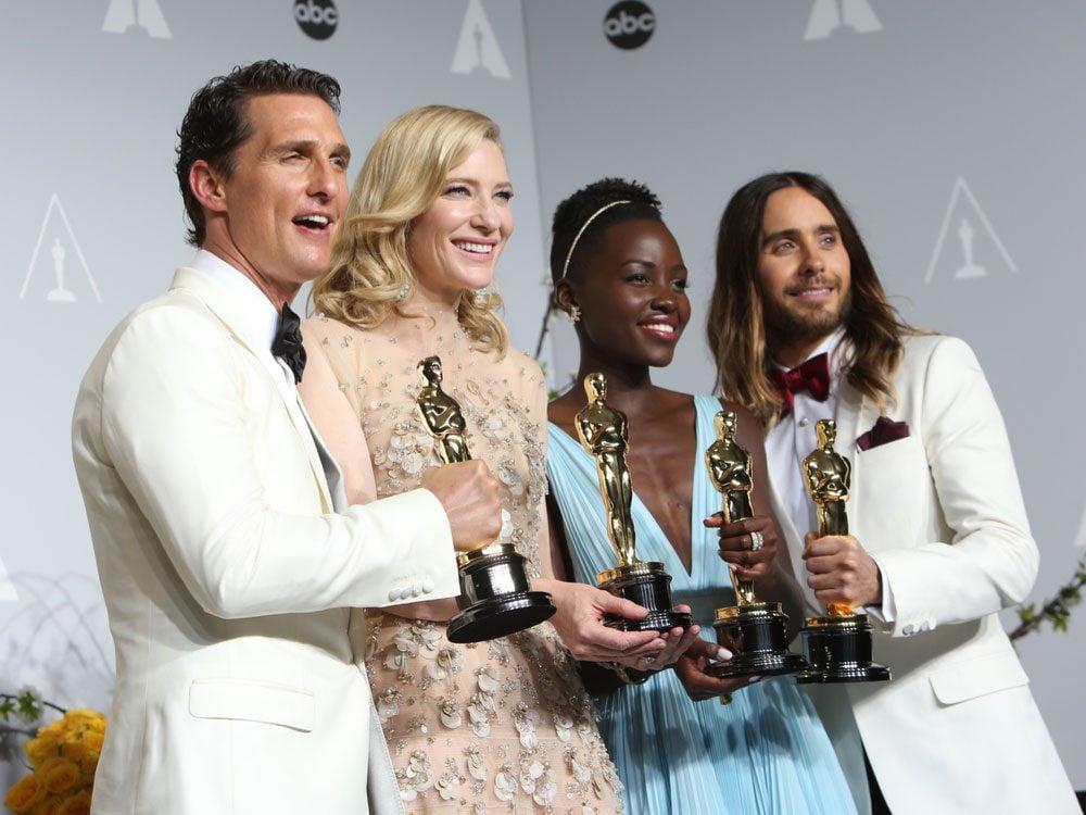 Matthew McConaughey, Cate Blanchette, Lupita and Jared Leto