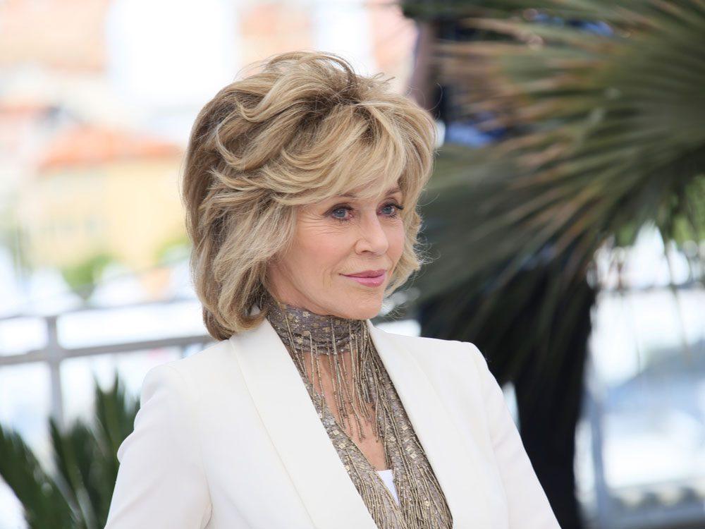 Jane Fonda at the Cannes Film Festival