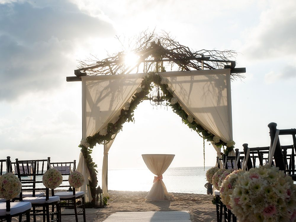 Wedding at the Ritz-Carlton, Cayman Islands