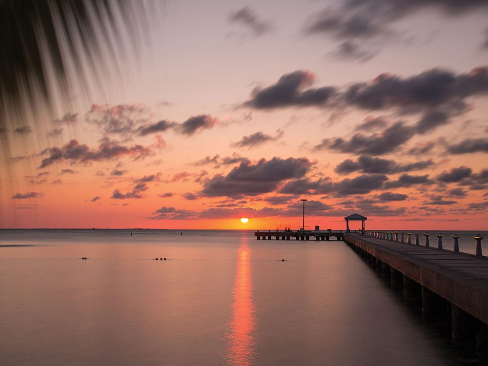 Rum Point sunset, Cayman Islands