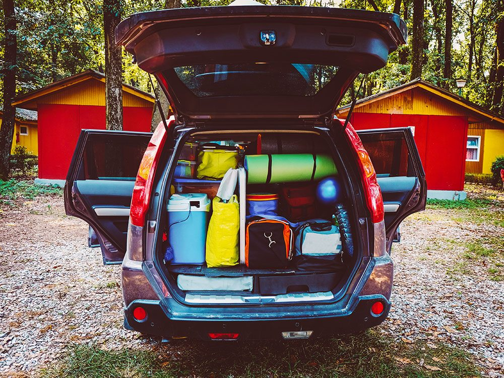 Save on gas by packing light