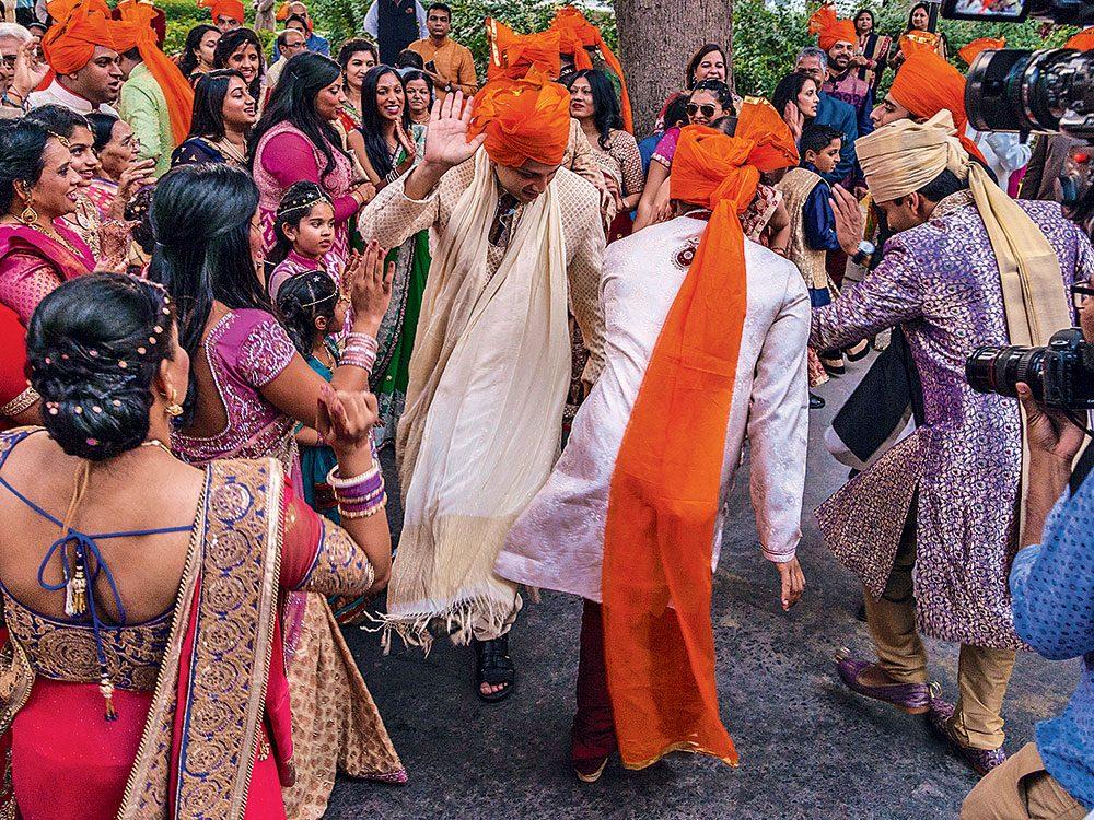 Wedding celebration in New Delhi