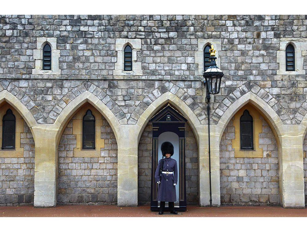 Guard at Windsor Castle