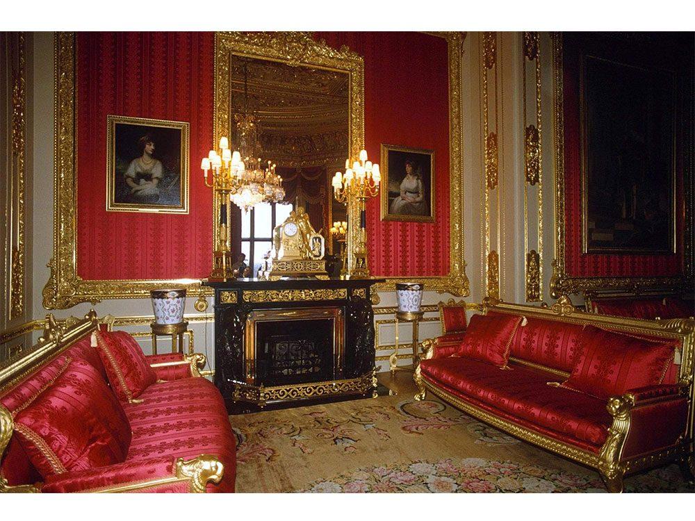 Fireplace at Windsor Castle