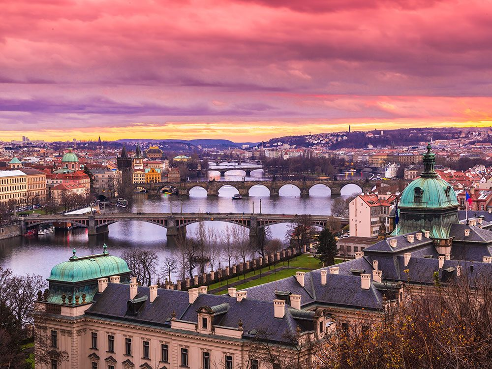 Summer vacation in Prague